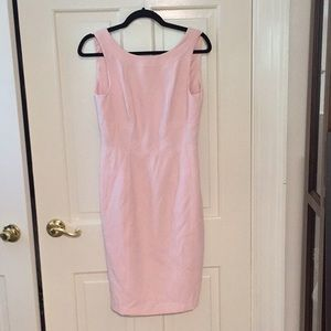 White House Black Market light pink dress size 4